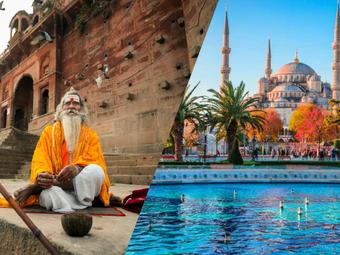Voyage Organisé Mars 2020 Istanbul & Inde
